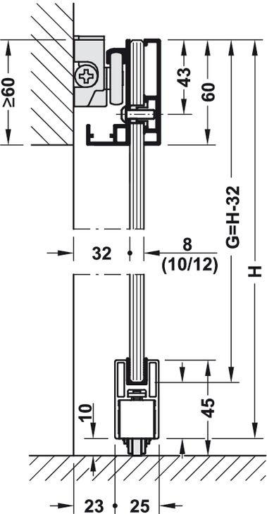 Sliding Door Fitting Slido Design 80 M Set In The Hafele America Shop Door Fittings Sliding Doors Hafele