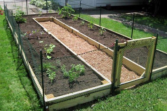 How To Build A U Shaped Raised Garden Bed Home Vegetable Garden Garden Layout Building A Raised Garden