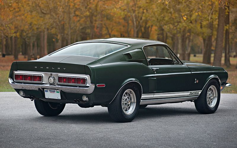 1968 Ford Mustang Shelby GT500 KR  Awesome Merican Muscle Cars