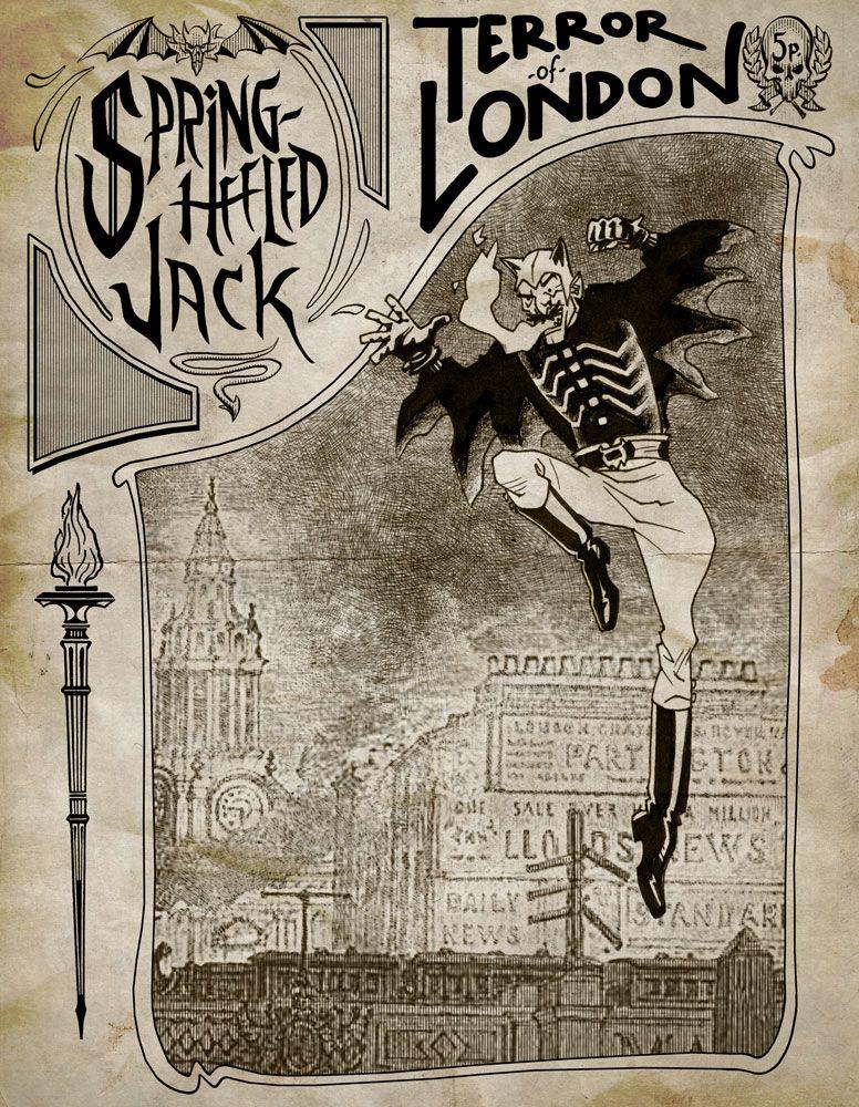 Spring-Heeled Jack in London