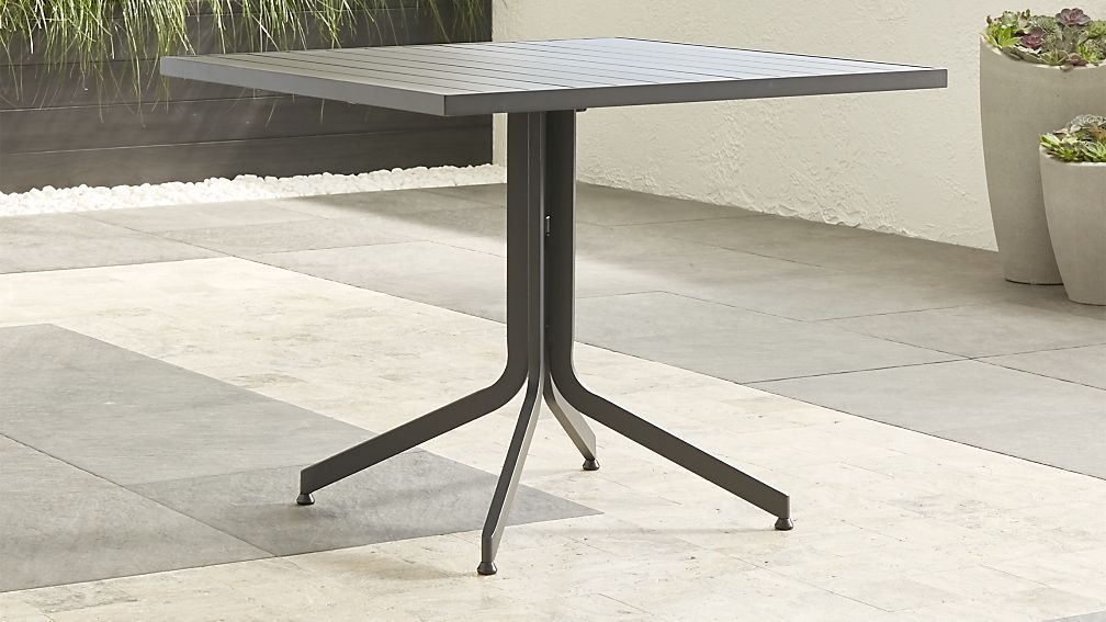 Lanai Square Fliptop Dining Table Dining Table Outdoor Dining