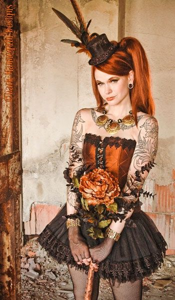 #SteamPUNK ☮k☮ Girl http://steampunk-girl.tumblr.com/ #provestra #coupon code nicesup123