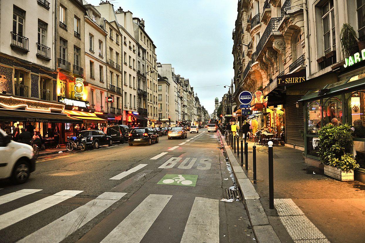 Una calle mas en Paris.