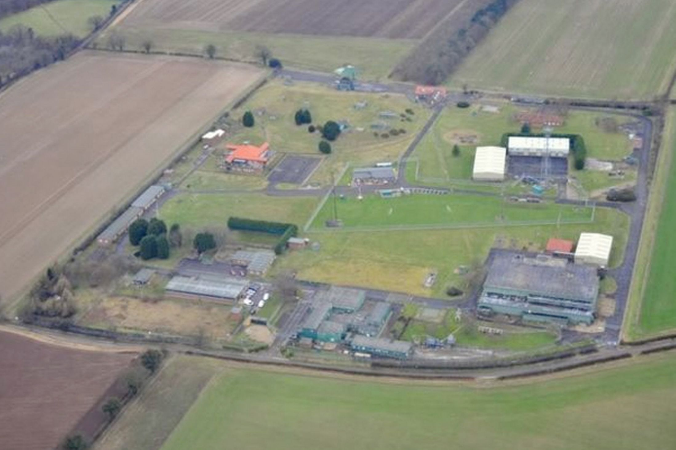 For sale ExRAF base complete with highsecurity fence
