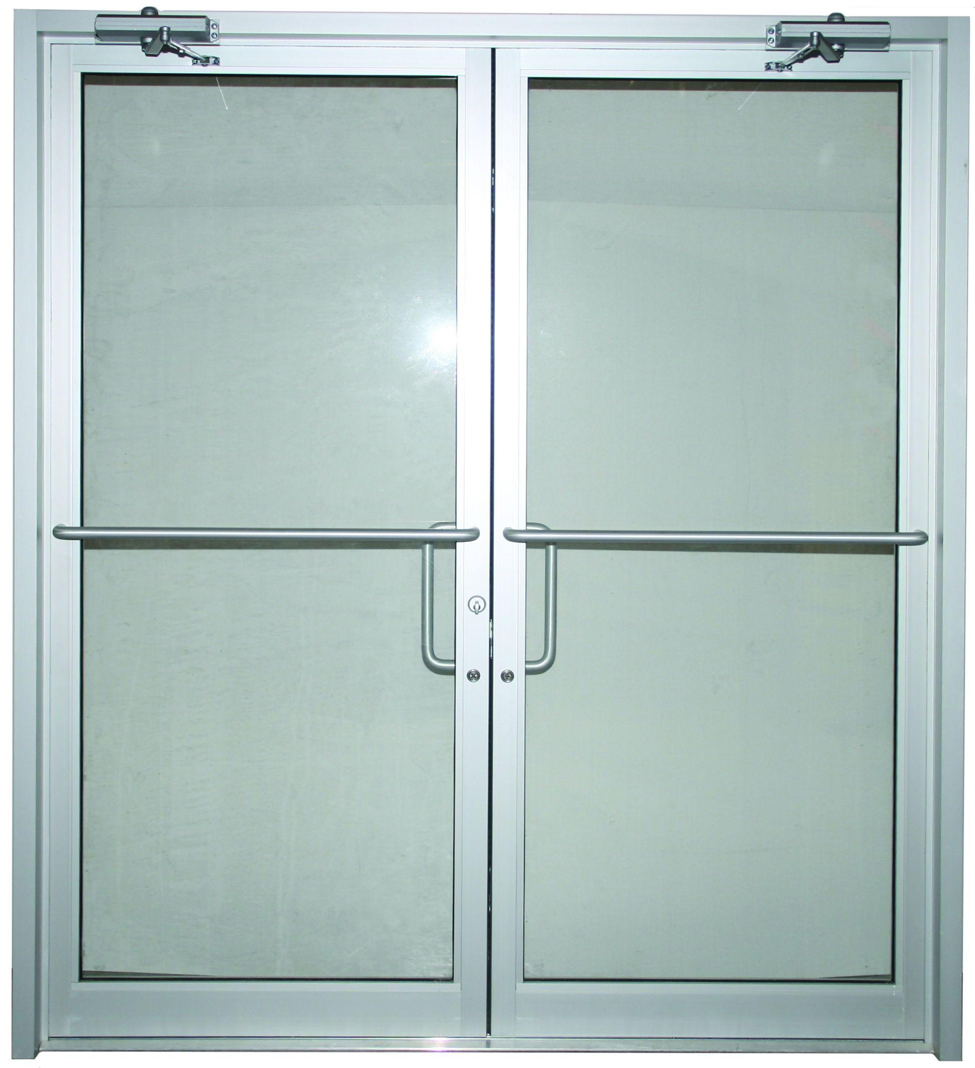 Hollow Metal Double Door Sizes Steel Doors Exterior Commercial