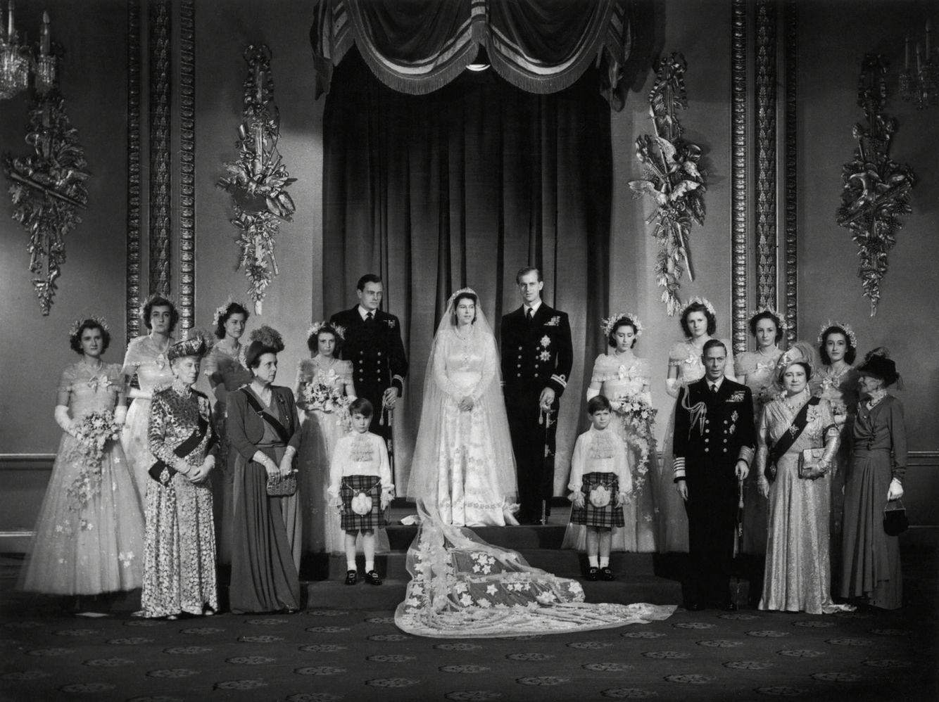 Wedding Group Boda De La Reina Isabel Reina Isabel Princesa Elizabeth