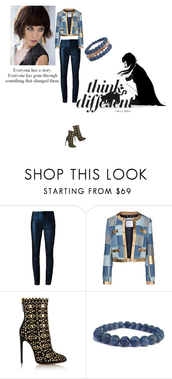 """""""Femme Fatale"""" by zenstore ❤ liked on Polyvore featuring Isabel Marant, Moschino and Alaïa"""