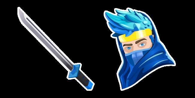 Fortnite Ninja Skin Dual Katanas Back Bling Fortnite Ninja Wallpaper Gamer Pics