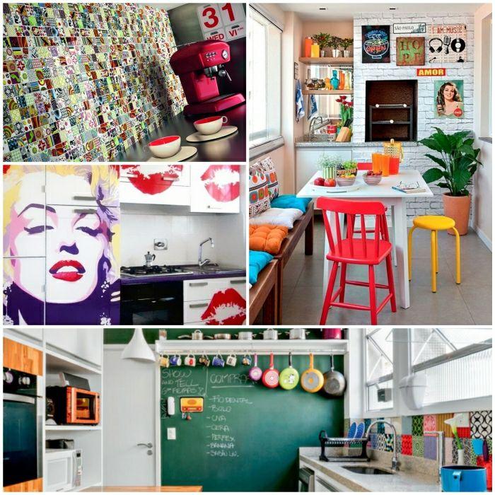 küchendeko küchendekoration dekotipps wanddeko küche Küche - bilder in der küche