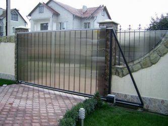 Откатные ворота: изготовление практичной конструкции ...