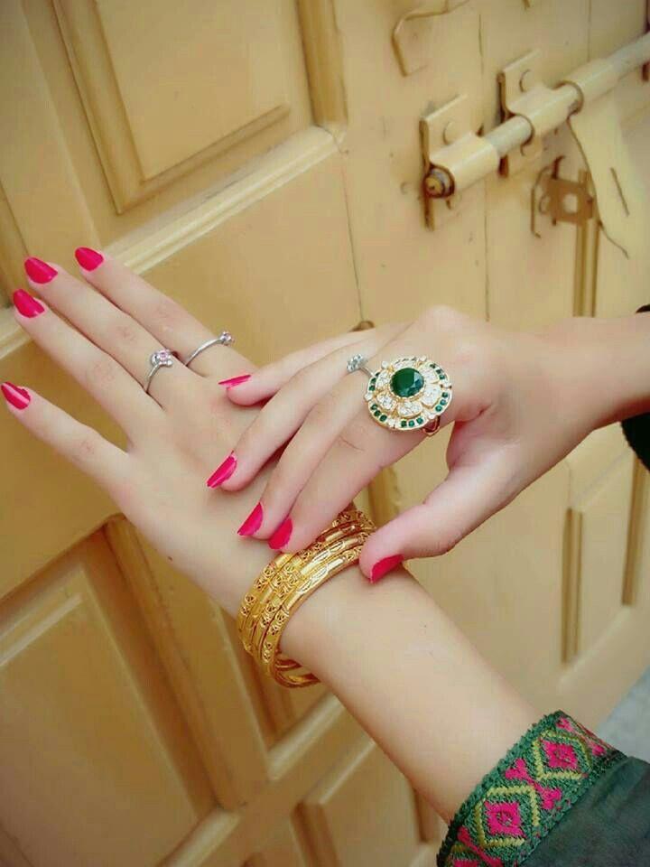 beautiful girls hands