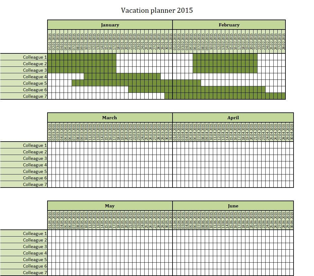 Employee Vacation Planner Template Excel Lovely May 2018 Template Calendar Design Vacation Planner Template Planner Template Vacation Planner