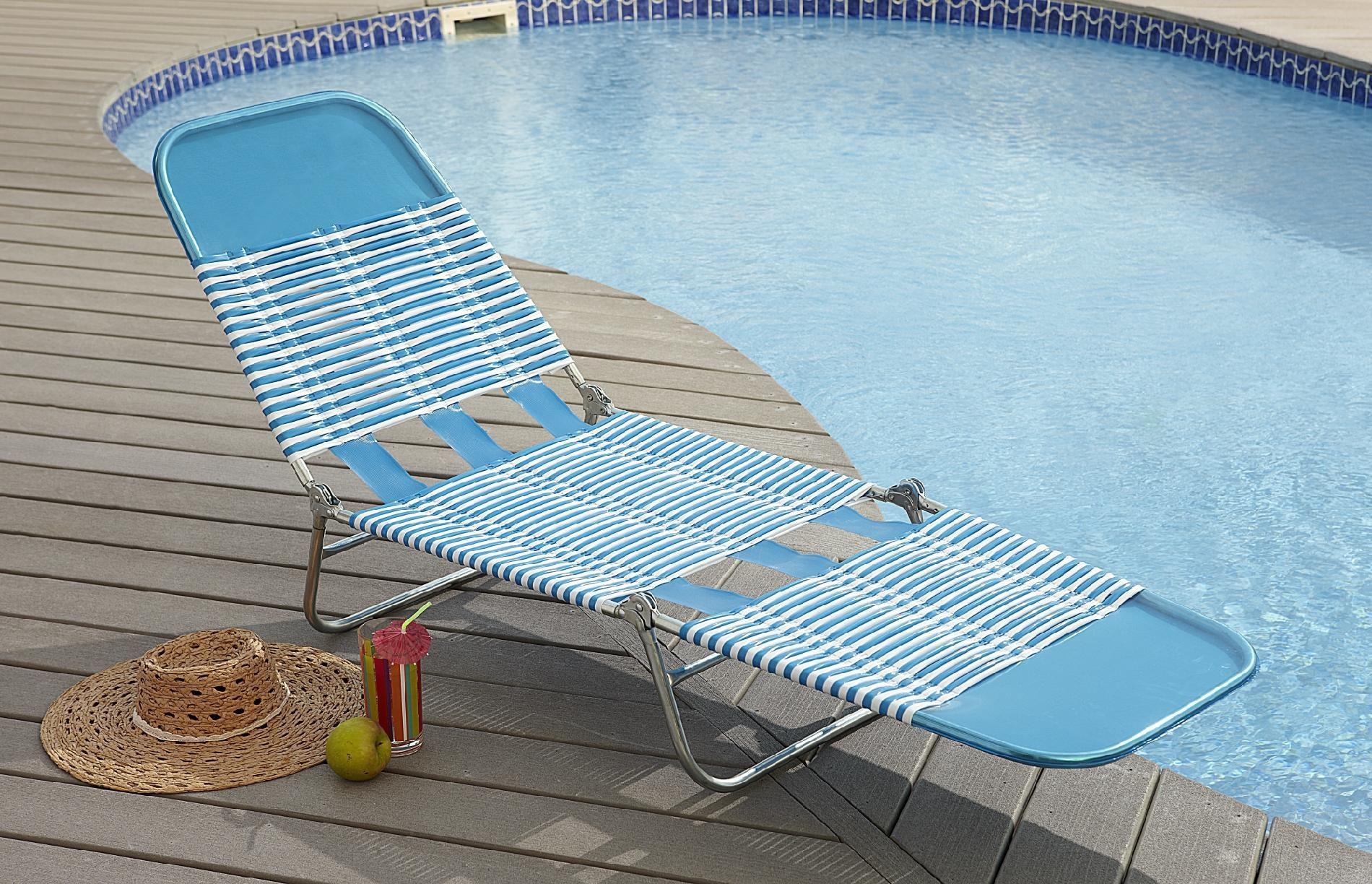 Folding Chase Lounge Chair Folding lounge chair, Patio