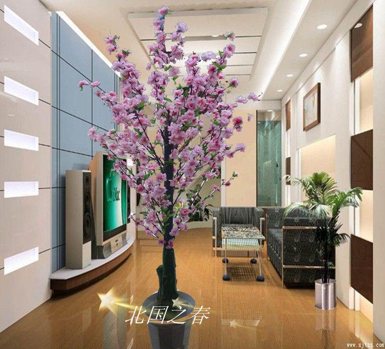 plantas artificiales artificial francés del árbol bonsái flor
