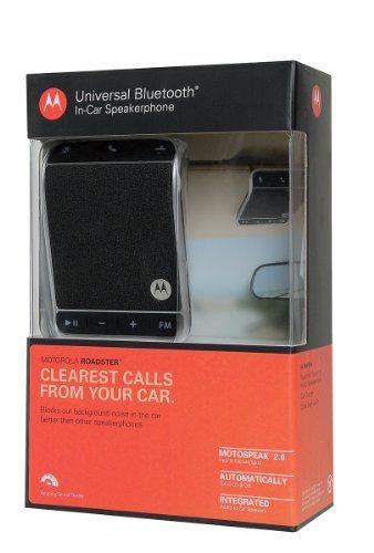 Motorola Roadster Bluetooth In-Car Speakerphone – Retail Packaging  http://www.productsforautomotive.com/motorola-roadster-bluetooth-in-car-speakerphone-retail-packaging/