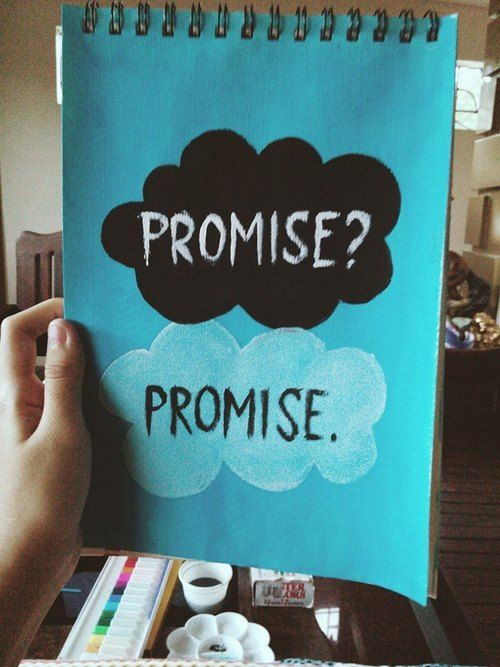"""#DIY Book College Idea / from the Book """"The fault in our stars- John Green"""""""