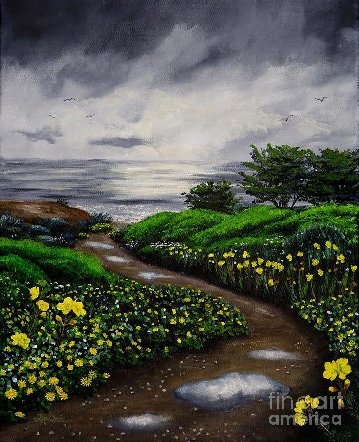 Unexpected Summer Rain Painting