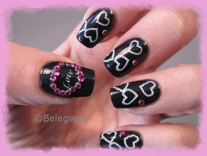 Nail Art by Belegwen: Kolmas kerta toden sanoo?