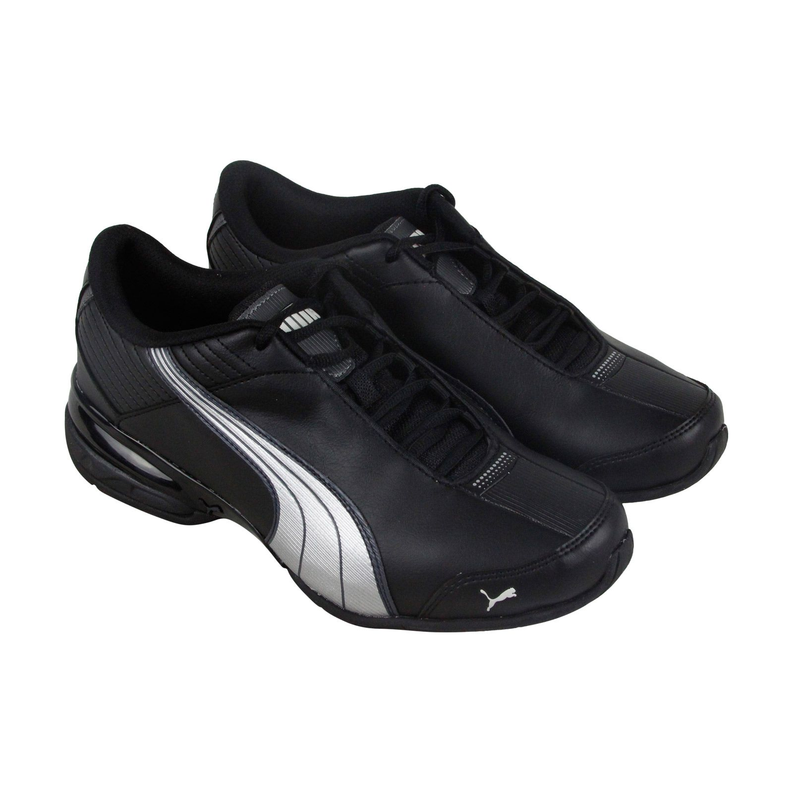 7a2788a72767ea Puma Super Elevate Mens Black Synthetic Athletic Lace Up Running Shoes