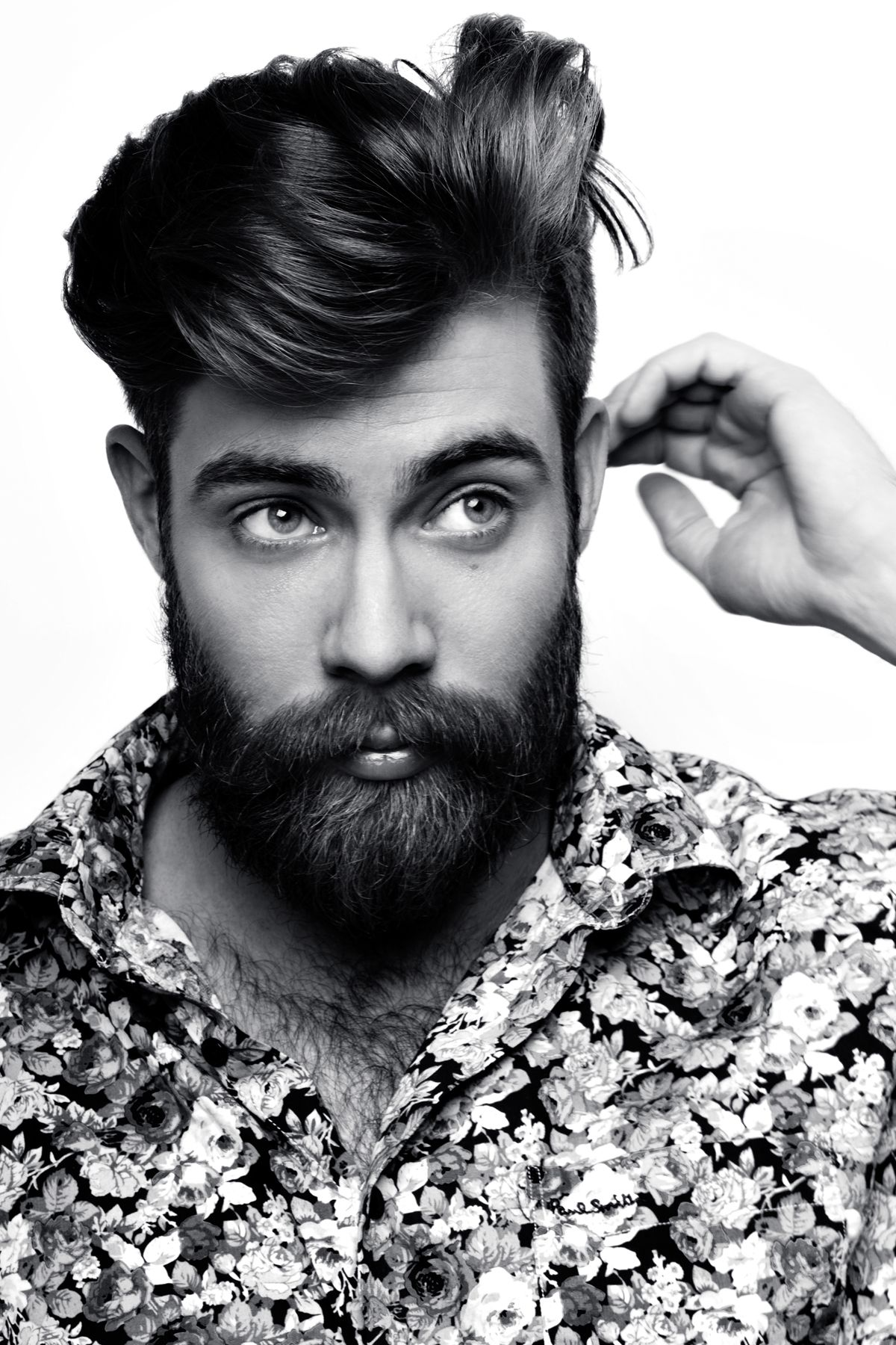 Coiffure Rockabilly Homme Coiffed And Pretty Beards Bearded Men Coiffure