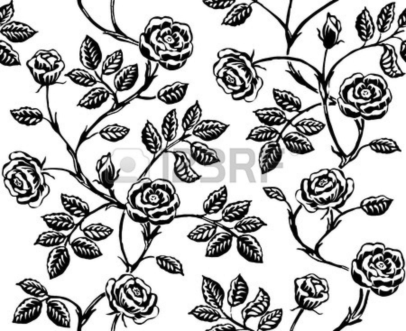 http://us.123rf.com/450wm/meganeura/meganeura1401/meganeura140100011/25312625-vintage-floral-seamless-pattern-classic-hand-drawn-roses.jpg