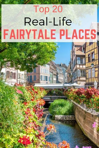 If you love fairy tales and have a serious case of wanderlust, this bucket list was made for you.  #travel #travelinspiration #beautifulplaces #fairytaleplaces #fairytaledestinations #bucketlist #travelbucketlist