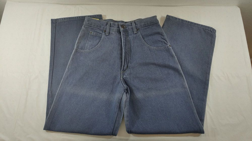 Solo Semore Jeans 100% Cotton Size 28 Made in USA Baggy New W/Tags Gray READ DES #SoloSemore #NA