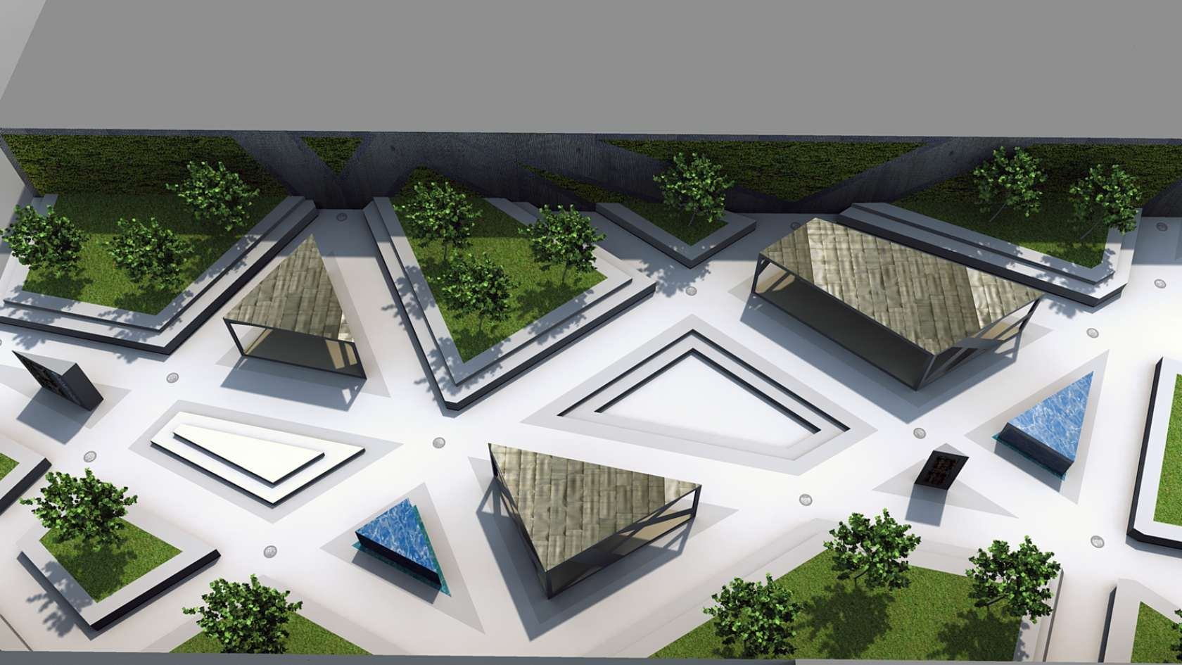 Design of car parking - 1 The Competition Was To Come Up With An Idea For Embassy Park