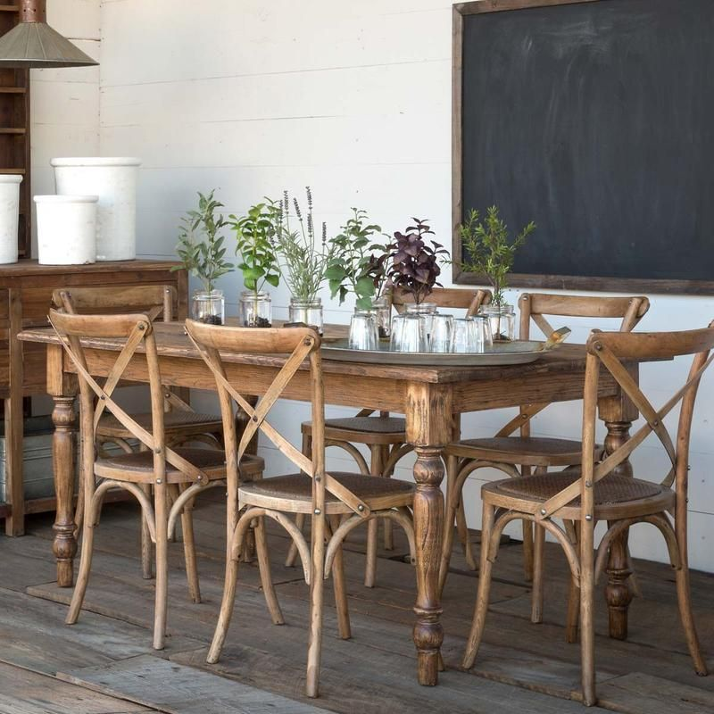 Old Elm Farm House Table In 2020
