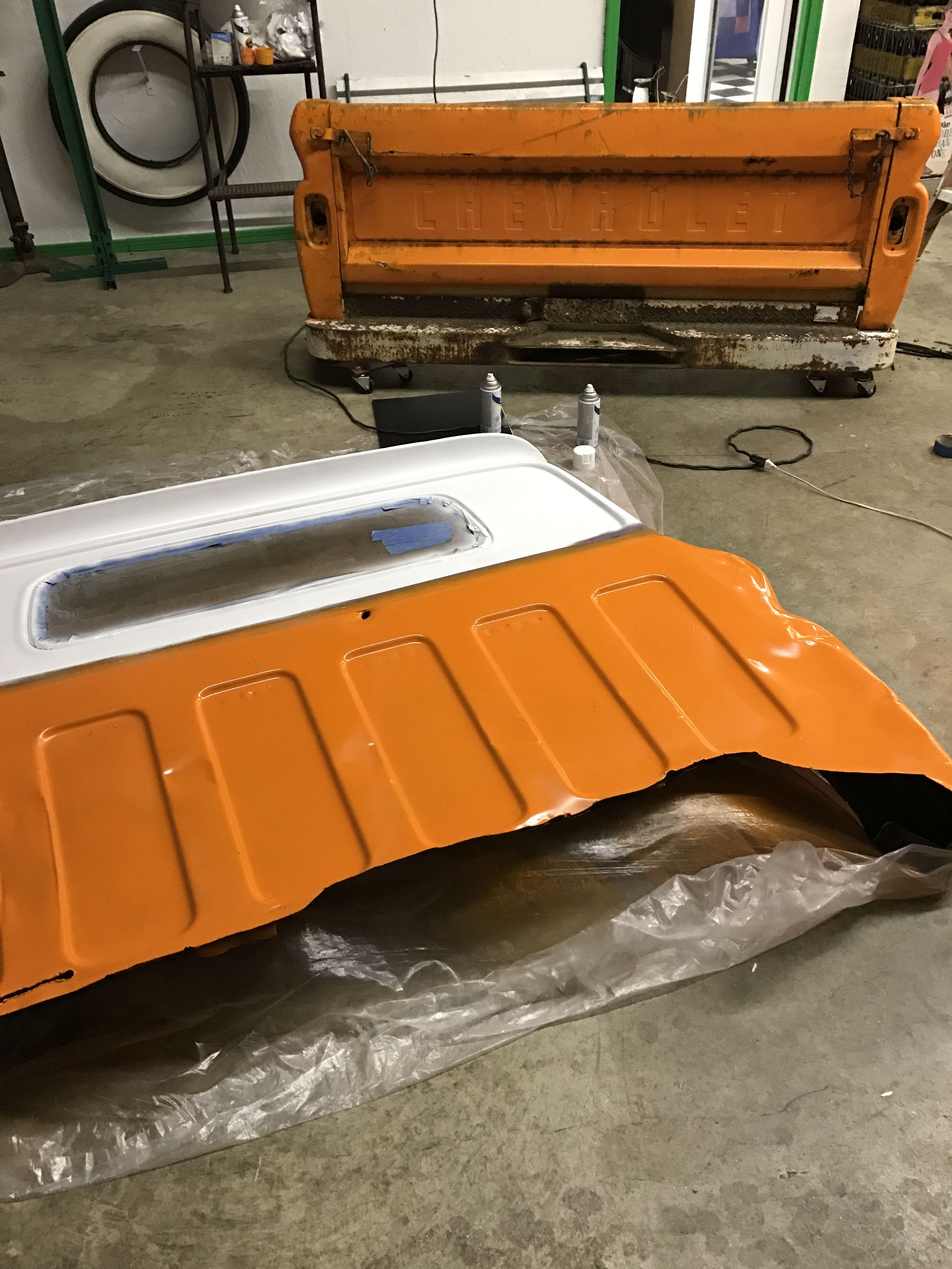 1965 Chevrolet Fleetside Queen size How to make bed