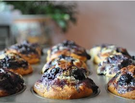 l'emprise de la gourmandise: my perfect blueberry muffin