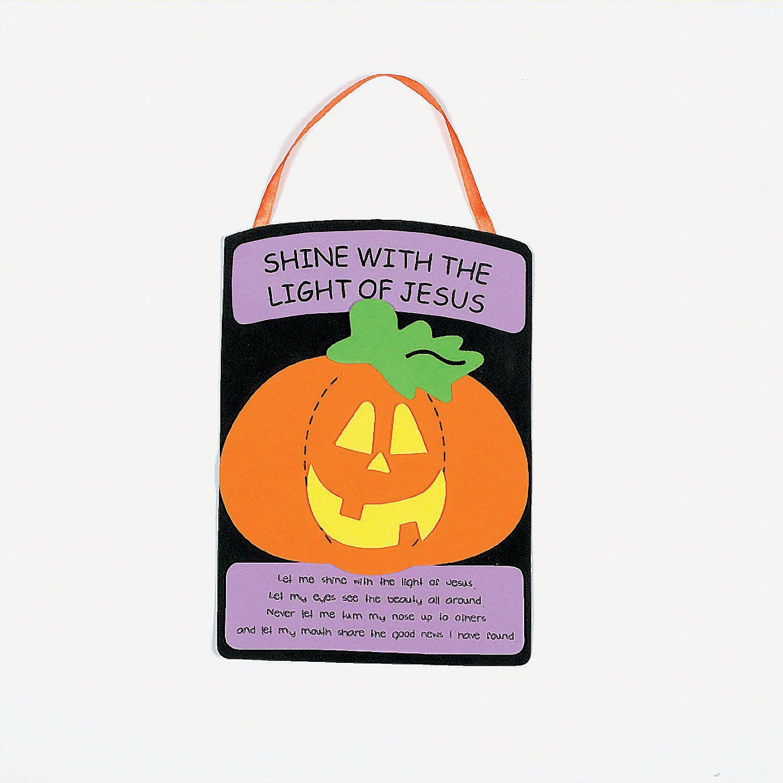 Christian Pumpkin Craft Kit