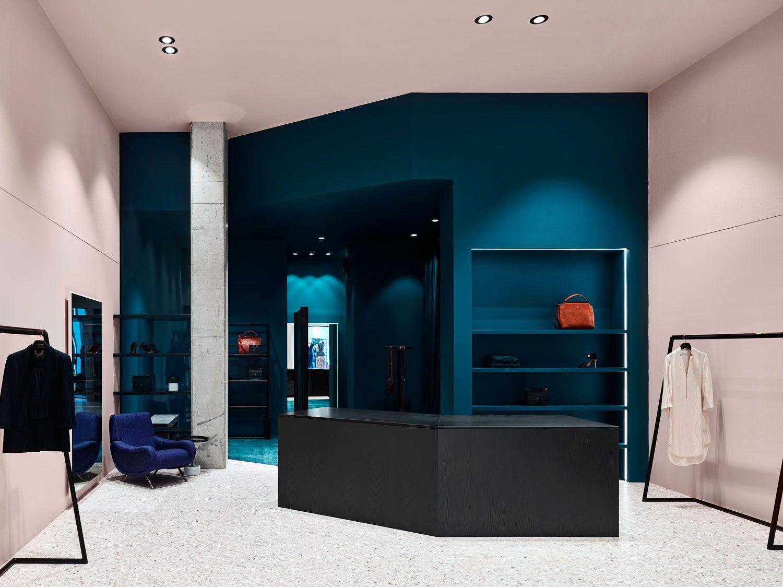 Flack Studios New Retail Concept For Ginger Smart Interior DesignRetail