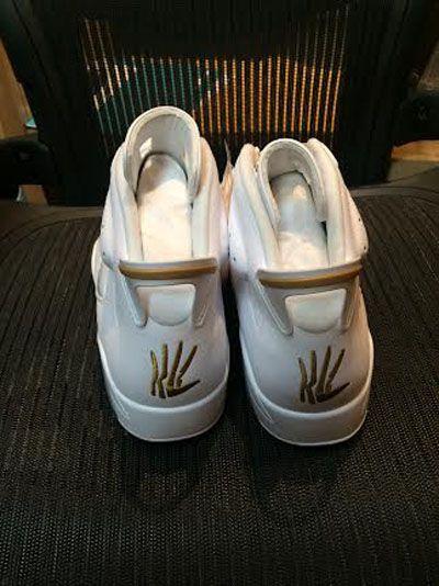 Logo of Air Jordan 6 Kawhi Leonard... The hand in the kicks 07564615b0cf