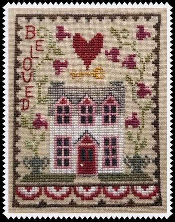 VALENTINE HOUSE TRIO; Digital Pattern for Cross Stitch by Waxing Moon Designs; Set of 3 Cute Romantic Houses; House Trio Series -  VALENTINE HOUSE TRIO; Digital Pattern for Cross Stitch by Waxing Moon Designs; Set of 3 Cute Romant - #Cross #CrossStitchbeginner #CrossStitchdesigns #CrossStitchfloral #CrossStitchflowers #CrossStitchfunny #CrossStitchmodern #CrossStitchpatterns #CrossStitchsubversive #Cute #designs #Digital #House #Houses #Moon #Pattern #romantic #series #Set #Stitch #TRIO #valent