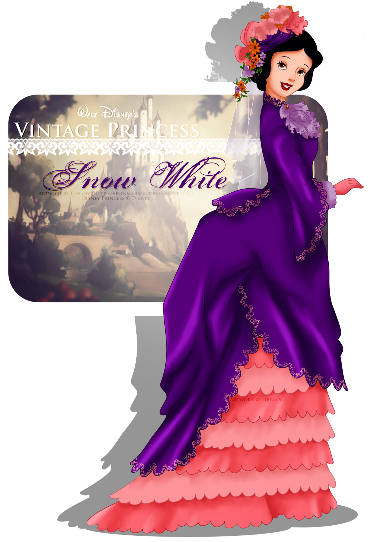 Vintage Princess -Snow White