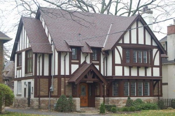 How do you paint a tudor style home tudor exterios - Tudor revival exterior paint colors ...