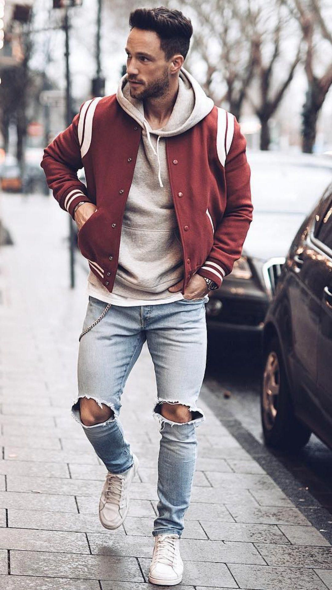 Men\u0027s outfits for Christmas 2019 Mensoutfits Mens Casual