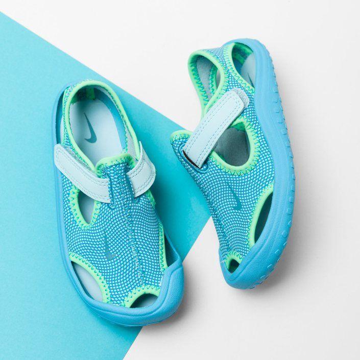 03dbebe28a3 Dětské Sandály NIKE SUNRAY PROTECT (TD) - Top Kvalita Dětské Sandály Nike  MODRÁ - Dětské Boty Nike On-Line Obchod (6796AZE14)