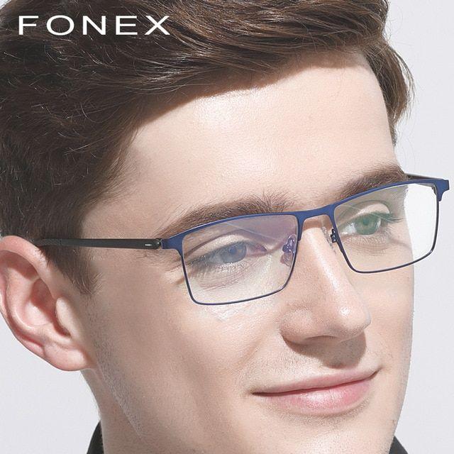 c82e8b7913 TR90 Titanium Optical Glasses Frame Men Ultralight New Square Myopia  Prescription Eyeglasses Women Full Korean Screwless Eyewear eyeglasses   Kate Spade ...