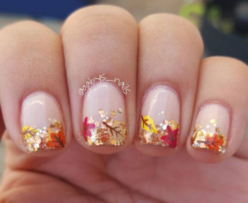 15 Autumn Gel Nail Art Designs Ideas 2017 Fall Nails 10 Nail Art