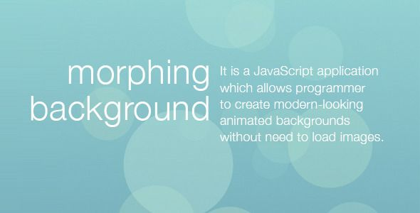 Review Morphing Backgroundwe are given they also recommend where is the best to buy