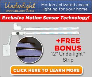 Underlight Motion Sensor Accent Lighting Easy Install Diy Home