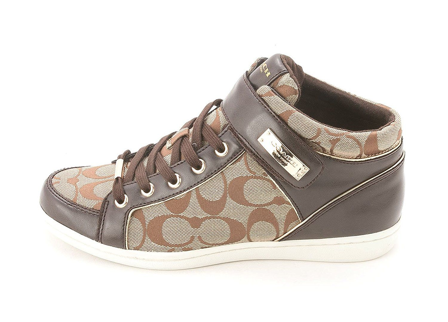 Coach Women's Zany 12CM Signature C High Top Fashion Sneaker ** More info could be found at the image url.