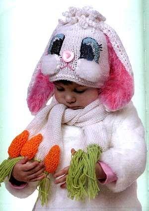 вязаные детские шапки вяжем мальчикам и девочкам вязание