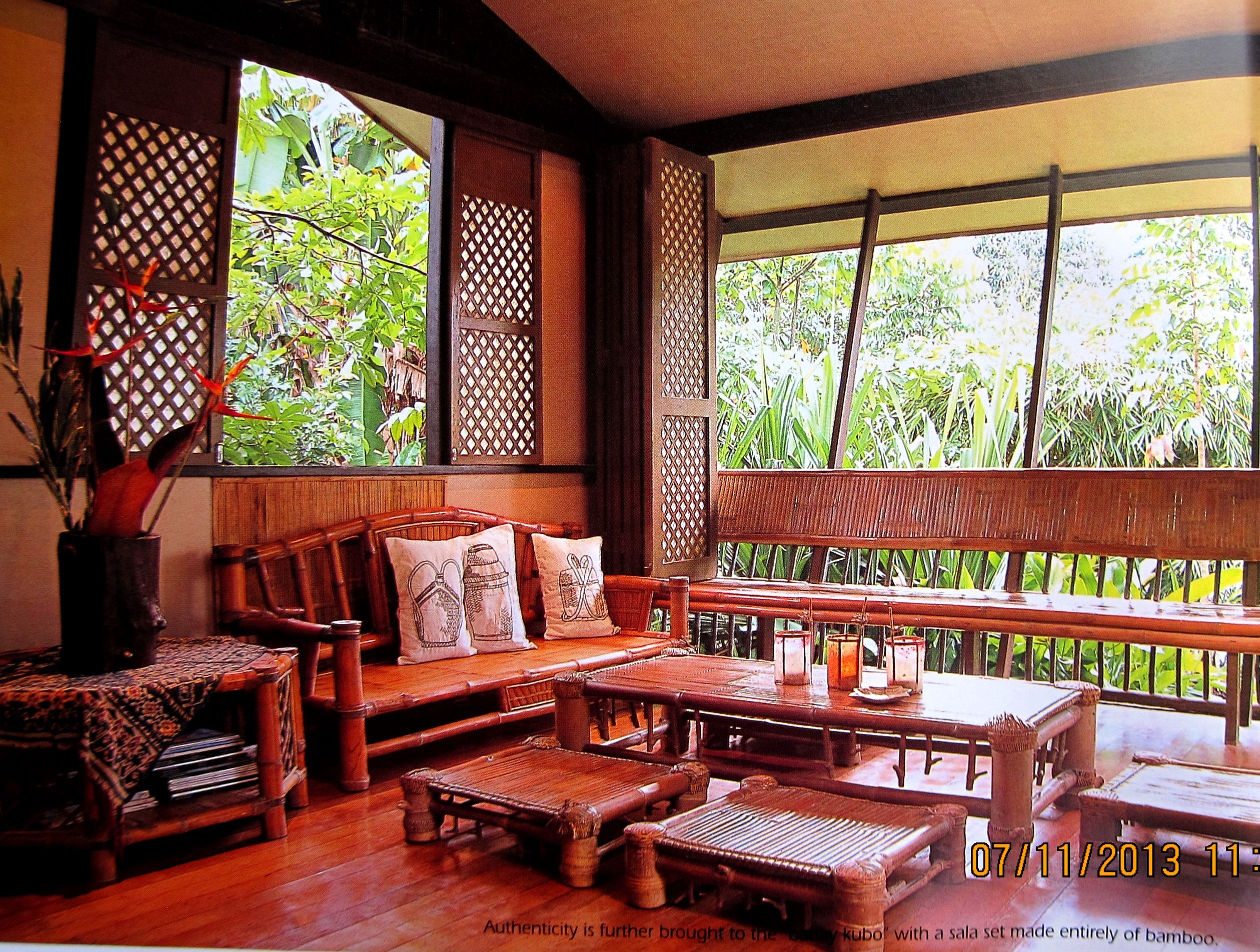 Pin By Edna Hontiveros On Philippine Interiors And Architecture Filipino House Bamboo House Design Simple House Design