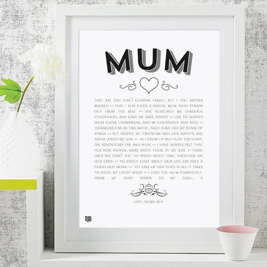'My Mum' Poem Modern Style Art Print #mumsetc 'My Mum' Poem Modern Style Art Print #mumsetc 'My Mum' Poem Modern Style Art Print #mumsetc 'My Mum' Poem Modern Style Art Print #mumsetc