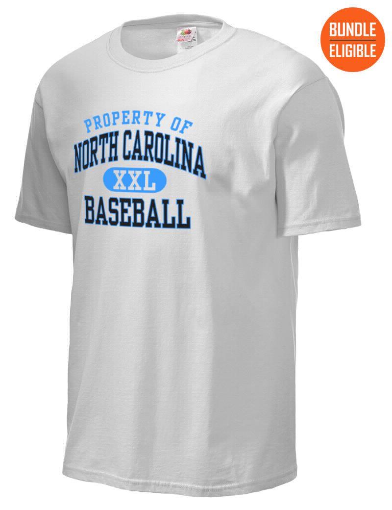 North Carolina Fruit Of The Loom Men S 5oz Cotton T Shirt T