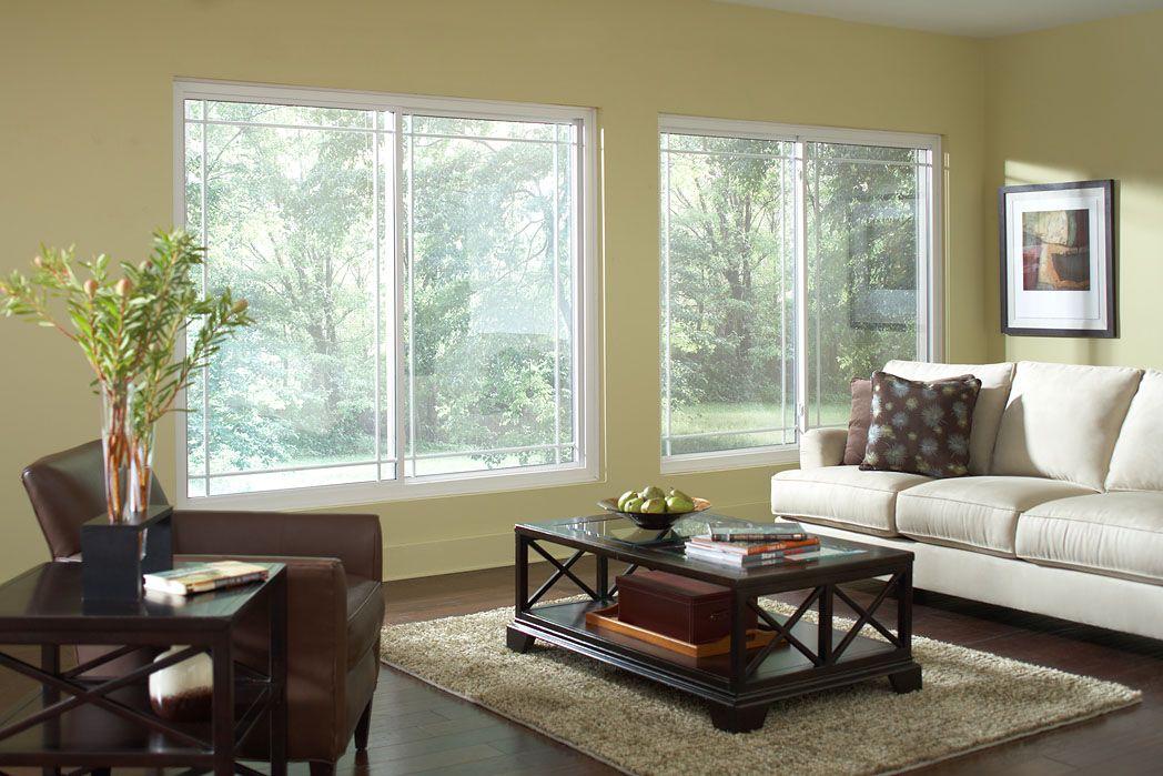 Window Works Alside 2 Lite Slider White Energy Star