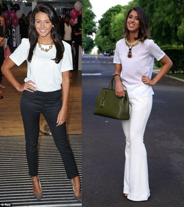 04_Camiseta basica em look para o trabalho_camiseta básica com calça de alfaiataria_maxi colar_look elegante e moderno_moda para o trabalho